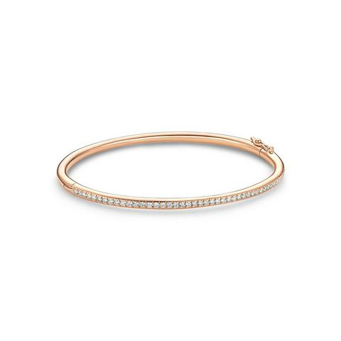 DB Classic bangle in rose gold