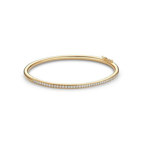 DB Classic bangle in yellow gold