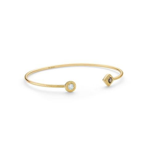 Talisman Essence bangle in yellow gold