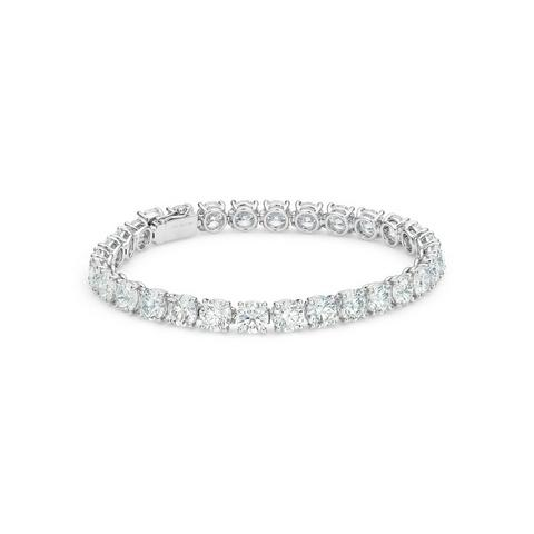 DB Classic eternity line round brilliant diamonds bracelet 18 cm