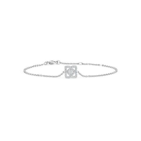 Enchanted Lotus bracelet in white gold