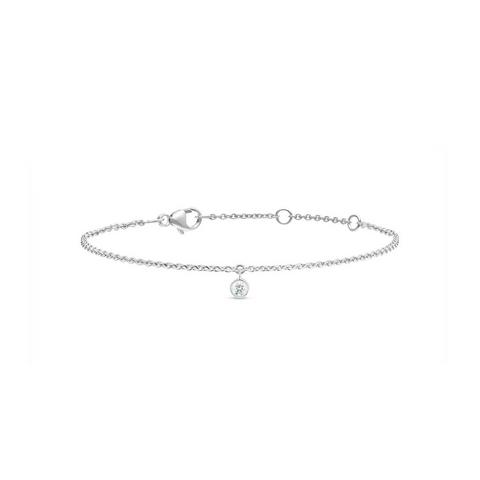 Clea one diamond bracelet in white gold 18 cm