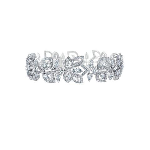 Lotus by De Beers, Flourishing Lotus bracelet
