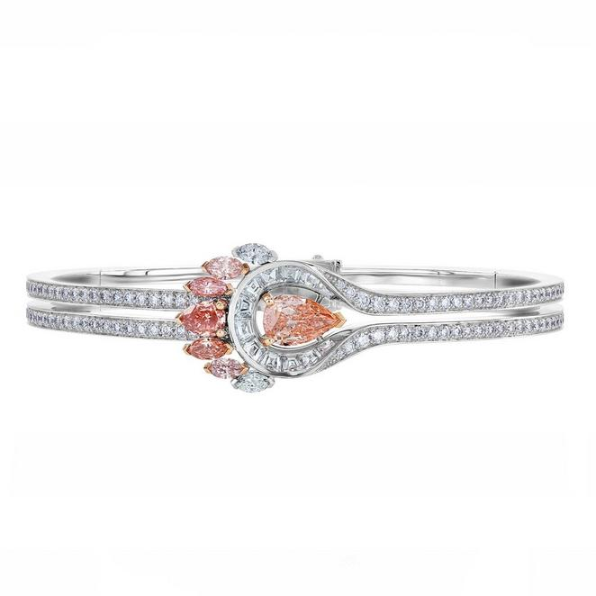 Portraits of Nature by De Beers, Greater Flamingo bracelet