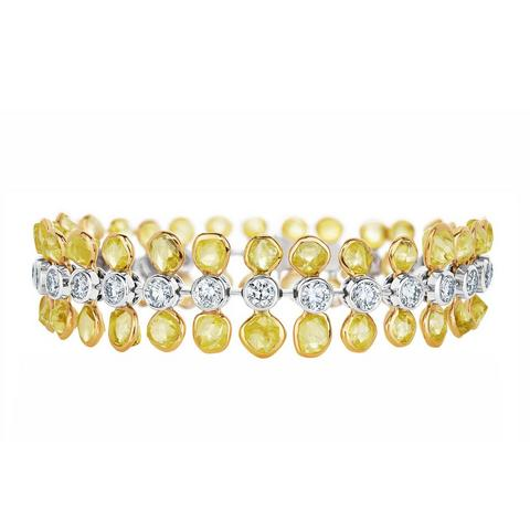 Portrait of Nature by De Beers, Electric Cichlid bracelet 18 cm