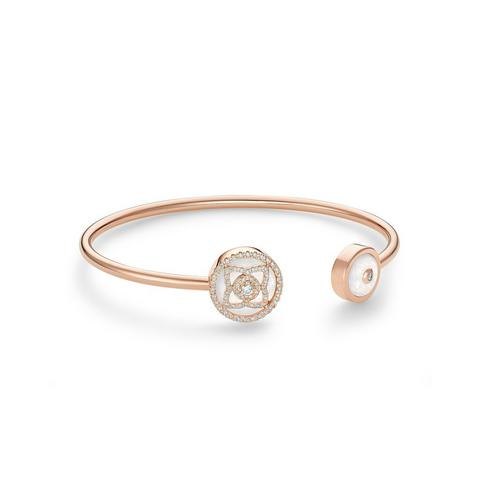 Enchanted Lotus bangle in rose gold and mother-of-pearl