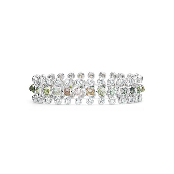 Okavango Grace three row bracelet