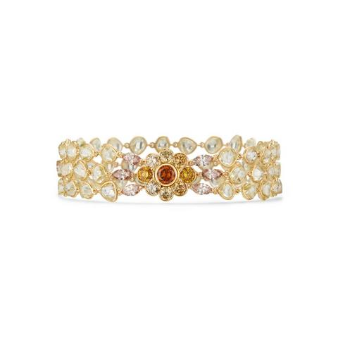 Landers Radiance three row bracelet