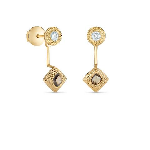 Talisman Essence earrings in yellow gold