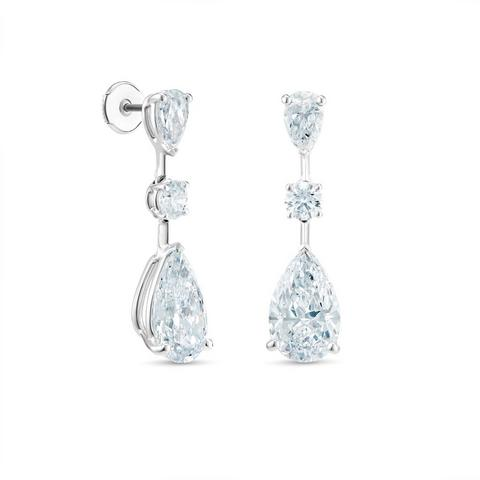 DB Classic Drops of Light pear-shaped diamond earrings
