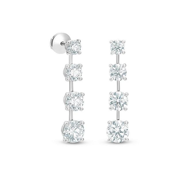DB Classic Drops of Light round brilliant diamond earrings