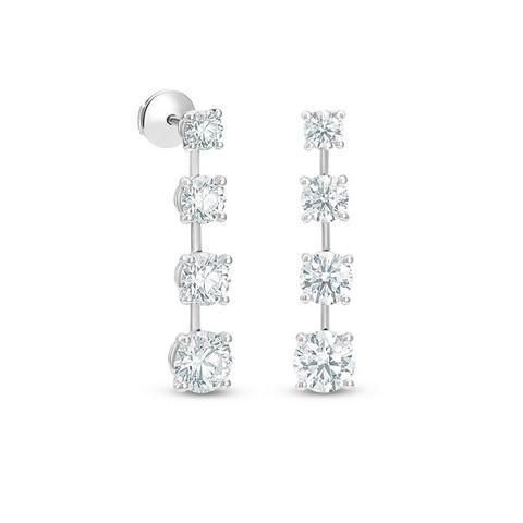 Boucles d'oreilles DB Classic Drops of Light diamants taille brillant