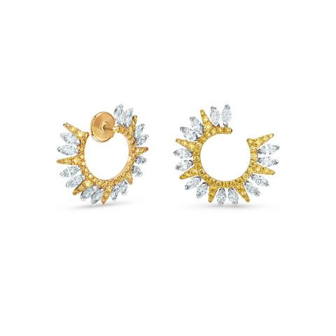 Diamond Legends by De Beers, Ra earrings