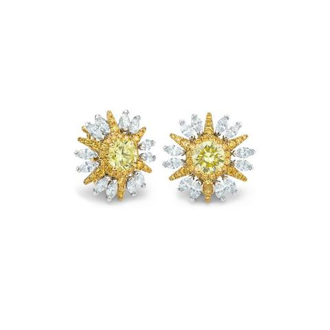 Boucles d'oreilles Ra, Diamond Legends by De Beers