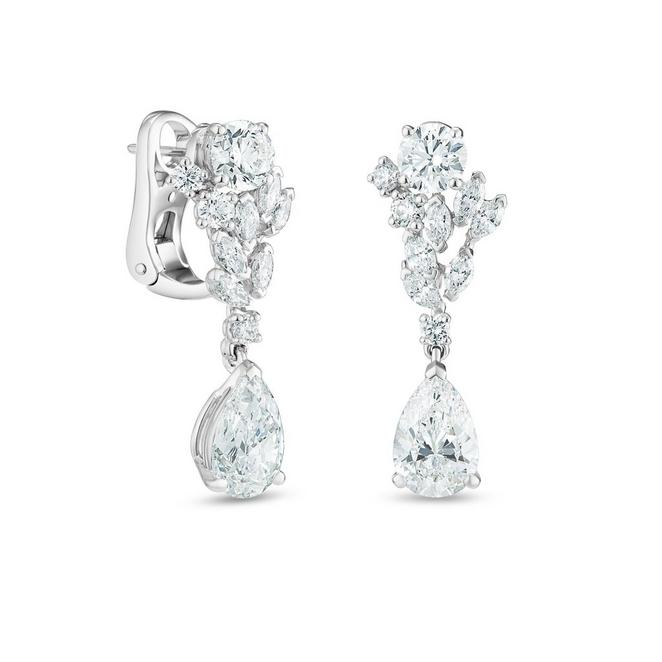 London by De Beers, Thames Path earrings