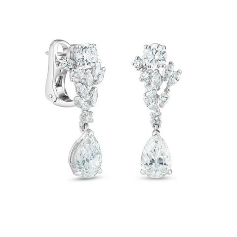 Boucles d'oreilles Thames Path, London by De Beers