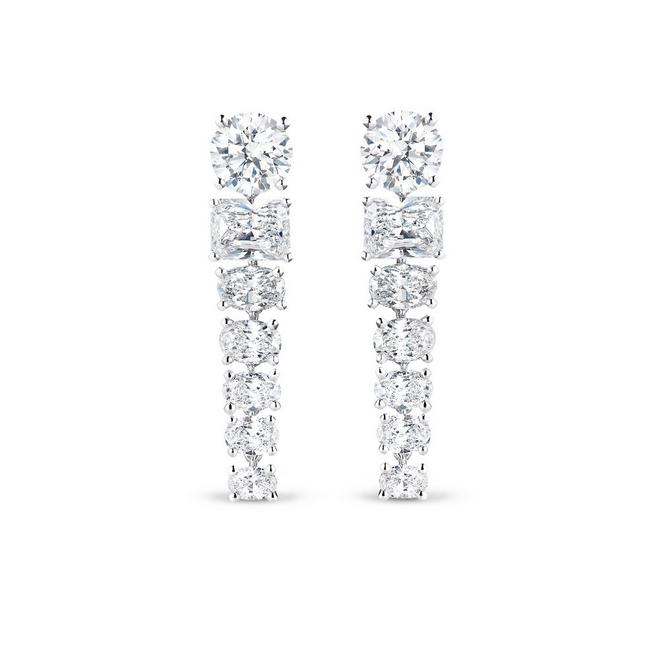 Boucles d'oreille Albert Bridge, London by De Beers