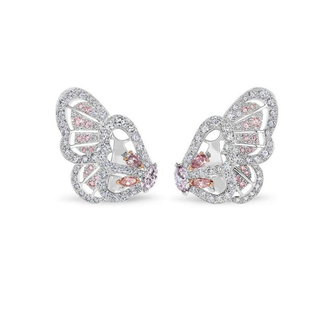 Boucles d'oreilles Monarch Butterfly, Portraits of Nature by De Beers