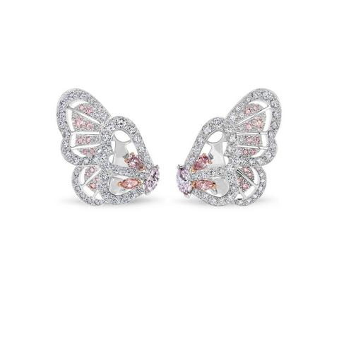Portraits of Nature by De Beers, Monarch Butterfly earrings
