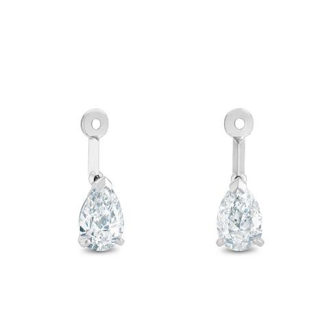 Boucles d'oreilles DB Classic Drops of Light diamants taille poire
