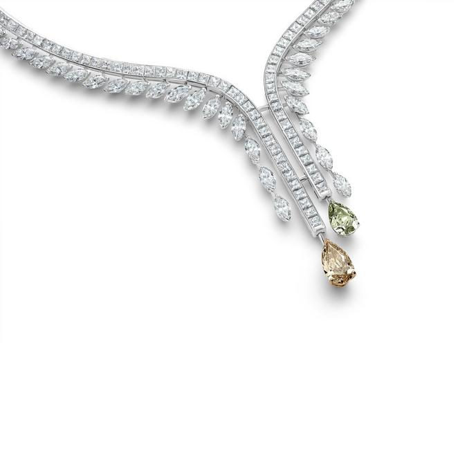 Diamond Legends by De Beers, Cupid necklace