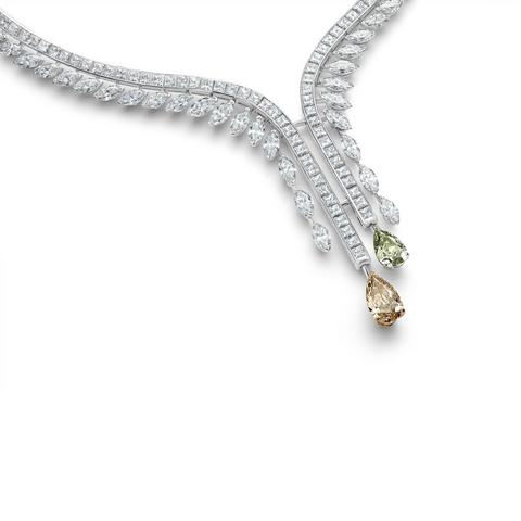 Diamond Legends by De Beers, Cupid necklace 42 cm