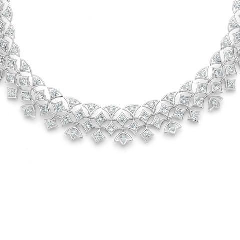 Lotus by De Beers, Radiating Lotus necklace