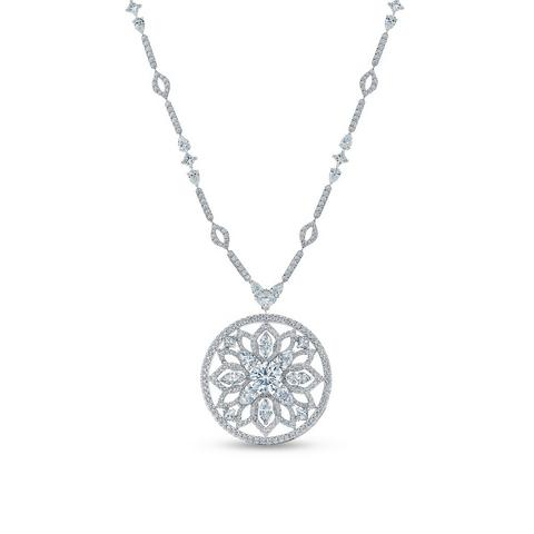 Lotus by De Beers, Flourishing Lotus necklace