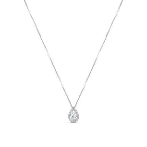 Pendentif Aura diamant taille poire
