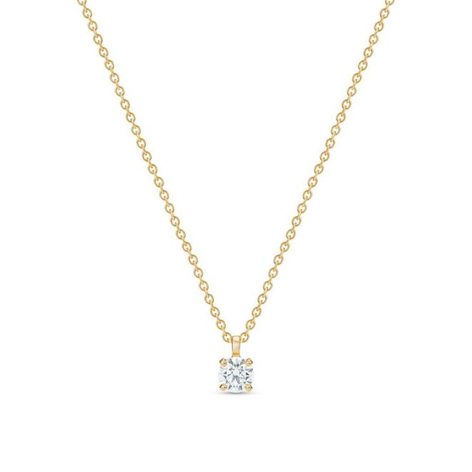 DB Classic round brilliant diamond pendant