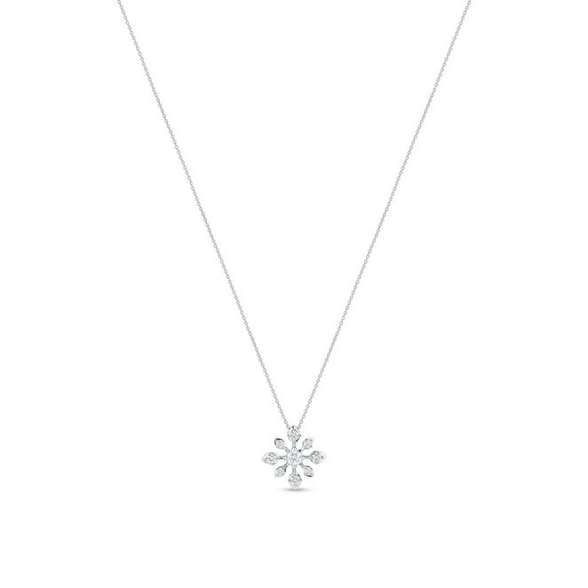 DB Classic star pendant in white gold