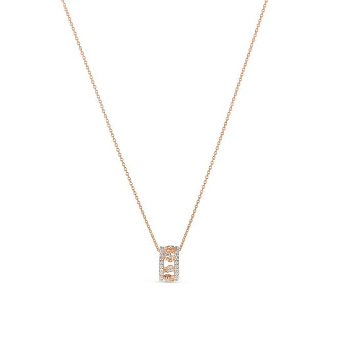 Dewdrop pendant in rose gold