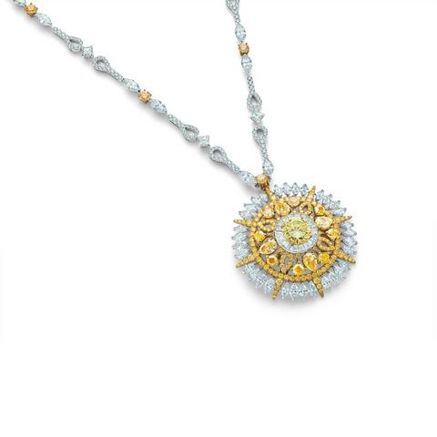 Diamond Legends by De Beers, Ra necklace