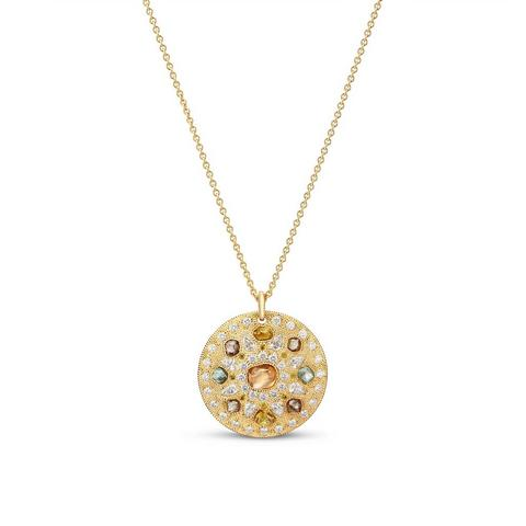 Talisman Spring medal in yellow gold