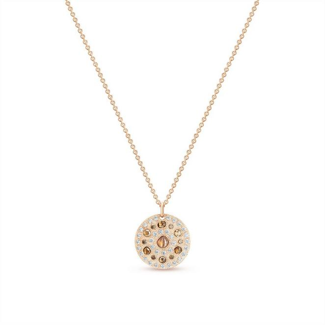 Talisman medal in rose gold