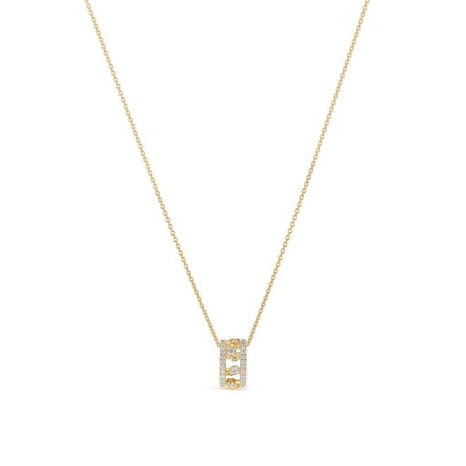 Dewdrop 黄金钻石项链