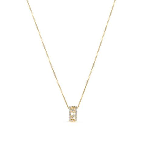 Dewdrop pendant in yellow gold