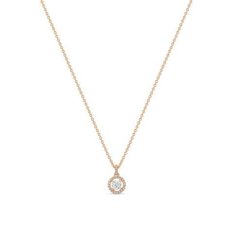 Aura pendant round brilliant diamond 45 cm
