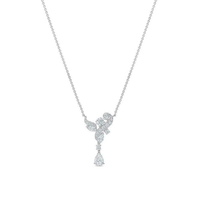 Adonis Rosependant in white gold