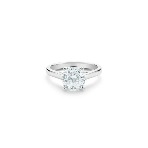 DB Classic cushion-cut diamond ring