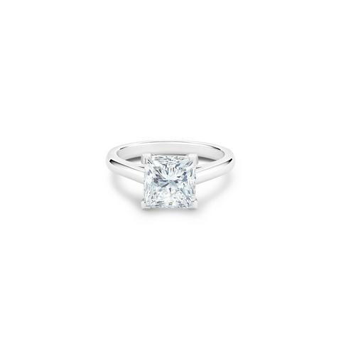 DB Classic princess-cut diamond ring