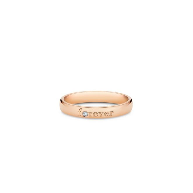 Forever band in rose gold