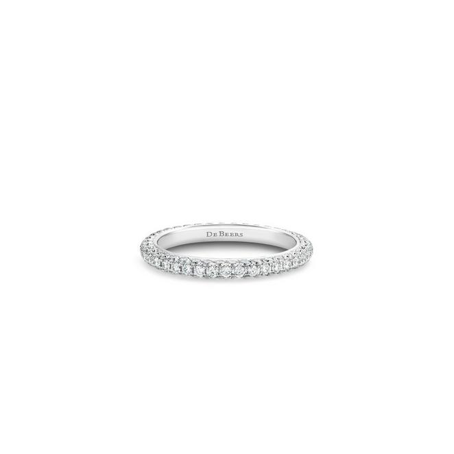 DB Darling eternity band in white gold