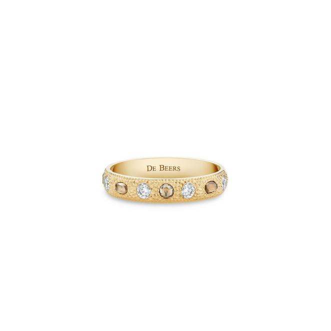 Bague Talisman small en or jaune