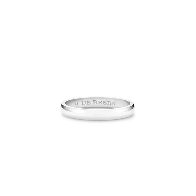 DB Classic 鉑金戒指 (3mm)