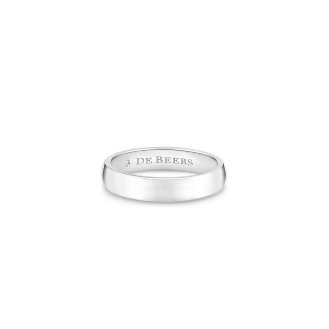 DB Classic 鉑金戒指(4mm)