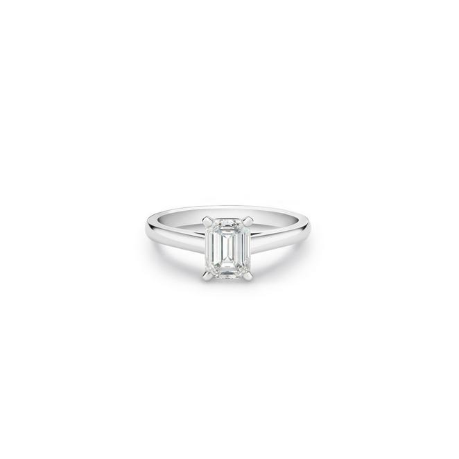 DB Classic emerald-cut diamond ring