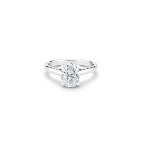 Solitaire DB Classic diamant taille ovale
