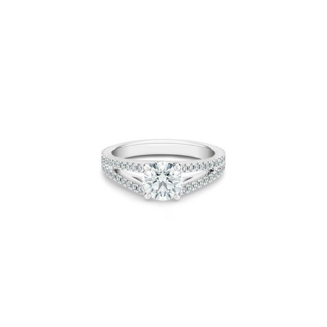 Solitaire DB Angel diamant taille brillant