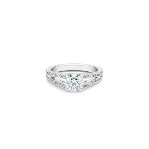 DB Angel round brilliant diamond ring
